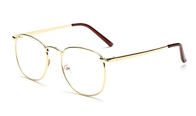 7a8965d9a7 DAUCO Gafas de lentes transparentes gafas de lectura decoración de  moda/gafas retro para hombres