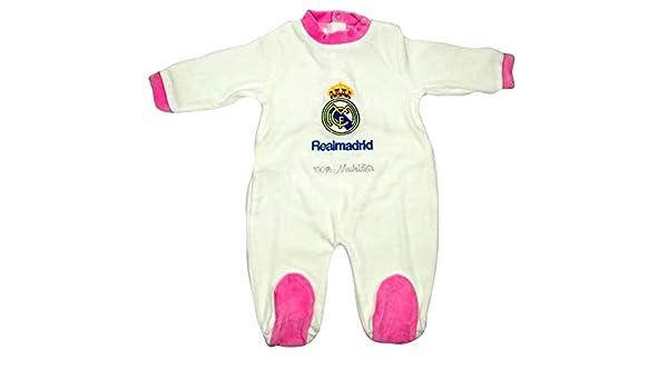 Pelele Niña Real Madrid Rosa 1-12 Meses (12 Meses): Amazon.es: Ropa y accesorios