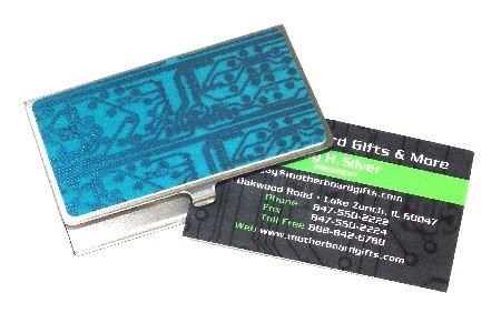 Circuit Board Business Card Case (Blue)