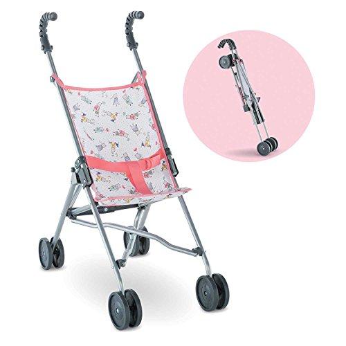 Corolle Mon Grand Poupon Umbrella Stroller Toy Baby Doll