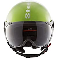 Steelbird SB-27 Style Mat Y. Green with plain visor,600 mm