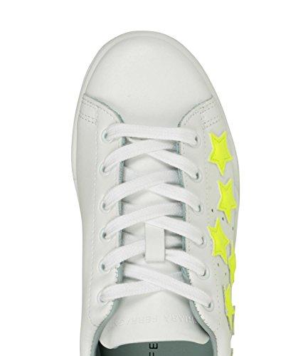 Bianca Mod Stars Chiara Ferragni CF1986 Sneakers Roger Donna wPUTIH