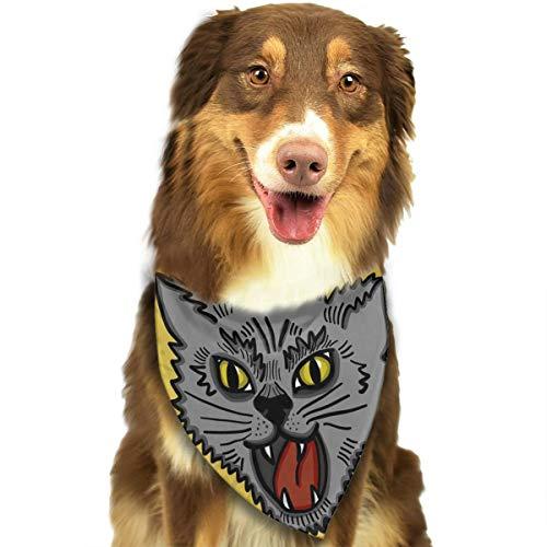 TNIJWMG Kitty Cat Bandana Triangle Bibs Scarfs Accessories