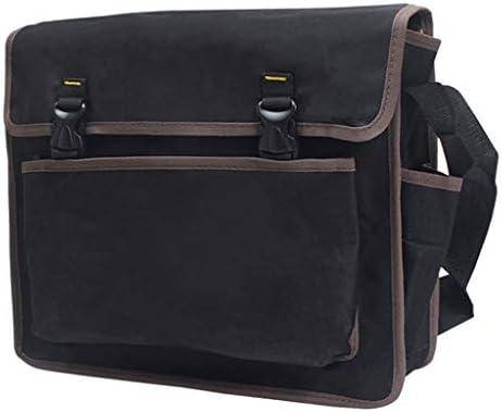 ストラップ付き 多機能 メンテナンス 電気ツールバッグ 全5サイズ - 390×330×100mm