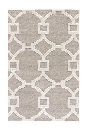 Jaipur Living Regency Hand-Tufted Trellis Gray/Silver Area Rug (5' X 8')