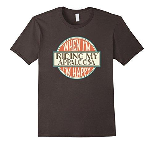 Mens Appaloosa Horse T-shirt Vintage Owner Riding Gift Te...