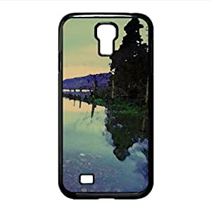 Smooth Lake Surface Watercolor style Cover Samsung Galaxy S4 I9500 Case (Lakes Watercolor style Cover Samsung Galaxy S4 I9500 Case)