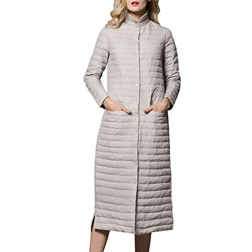 Amazon.com: Womens Coats Winter Clearance!Besde Womens Fashion Casual Warm Lightweight Outwear Packable Down Coat Stand Collar Long Down Jacket: Beauty