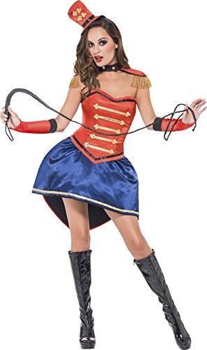 Fever Women's Boutique Ringmaster Costume, Multi, Medium -