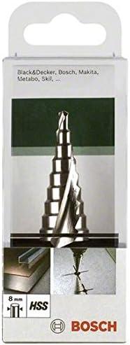 Taladro, Broca de paso, 8 mm, Rotaci/ón manual derecha, 2 cm, 7,5 cm s Bosch 2609255115 Broca de paso 1pieza - Brocas