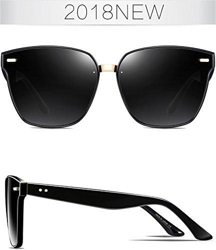 Negro ATTCL Gafas para sol de hombre xHqwC0Xfq