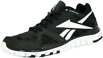 Reebok REALFLEX TRANSITION 3.0 Zapatillas para Correr Negro Blanco para Hombre: Amazon.es: Deportes y aire libre