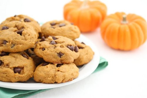 Two (2) Dozen Pumpkin Chocolate Chip Cookies - Bakery - Shortbread Pumpkin Cookies