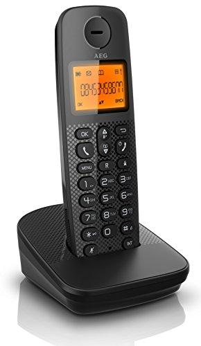 AEG Schnurloses DECT-Telefon D120 schwarz