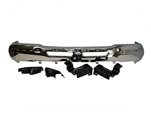 FRONT STEEL BUMPER CHROME WITH BRACKET GM1002819 ()