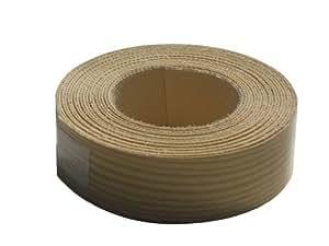 Swish - Cinta adhesiva con borde metalizado y efecto de madera de pino (19 mm x 2 m)