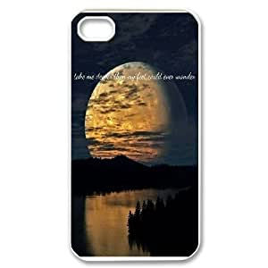 Sea and clouds iPhone 4,4S Phone Case, DIY iPhone 4,4S Case