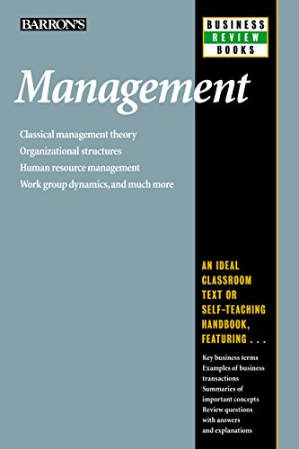 Management (Barron's Business Review Series)