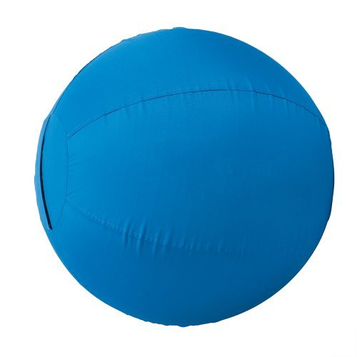 Weaver Leather Stacy Westfall Activity Ball Cover, Medium, Blue by Weaver - Stacy Activity Westfall Ball