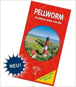 Pellworm Karte.Pellworm Touristische Karte Landkarte 1 20 000 Mit