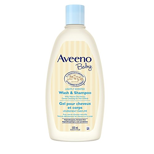 Aveeno Baby Wash & Shampoo For Hair & Body, Tear-Free, 18 Oz.