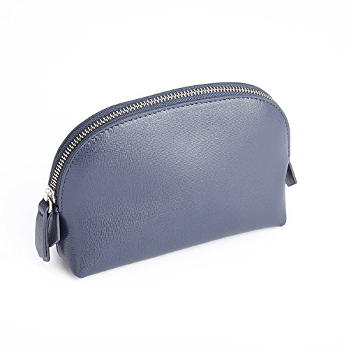 Royce Leather Luxury Travel Cosmetic Makeup Bag in Italian Saffiano Leather, ...