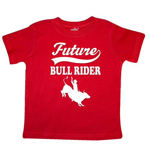(inktastic - Future Bull Rider Rodeo Riding Toddler T-Shirt 2T Red 27d34)