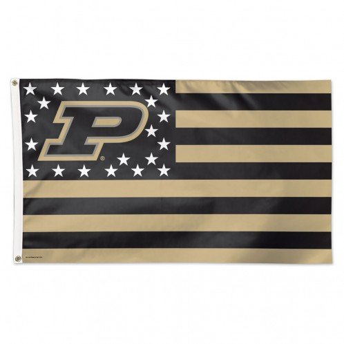 WinCraft NCAA Purdue University 13421115 Deluxe Flag, 3′ x 5′ Review
