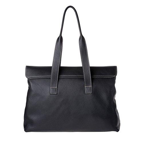 Dudu - Sac porté épaule - Dollaro - Aurora - Noir - Femme