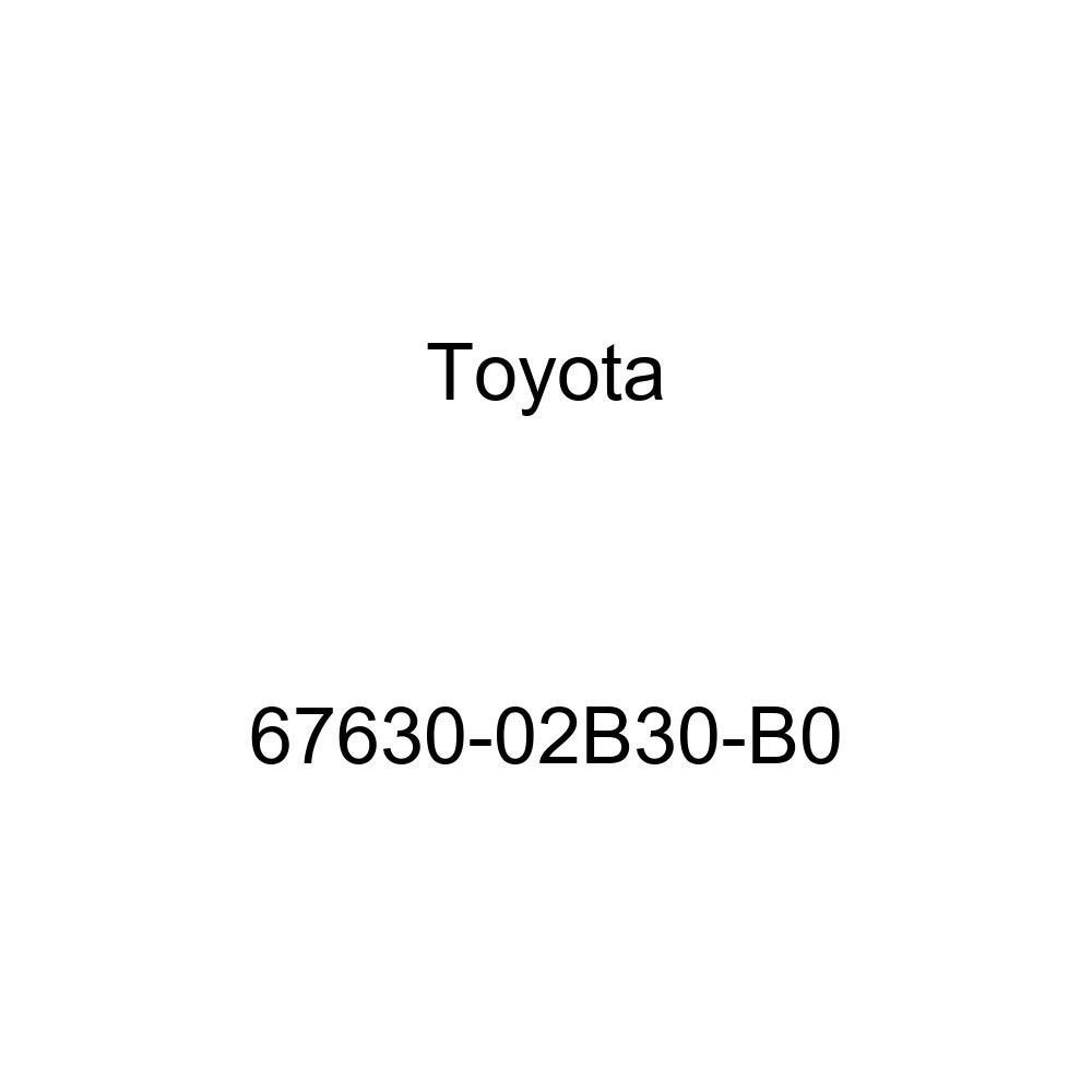 Genuine Toyota 67630-02B30-B0 Door Trim Board