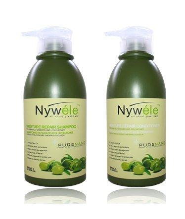 Nywele Moisture Repair Shampoo and Conditioner SET - 27 oz (800ml) Each by Nywele