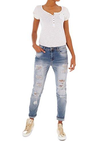Mittelblau 62nd Skinny Avenue Jeans Donna xwqp1avWpB