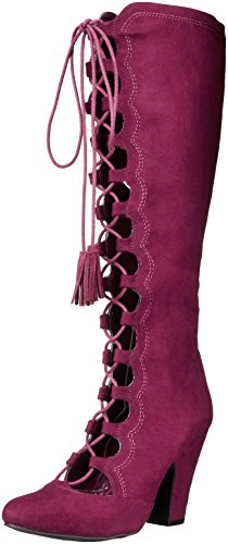 MIA Women's Evelina Western Boot Oxblood T7w4Jo