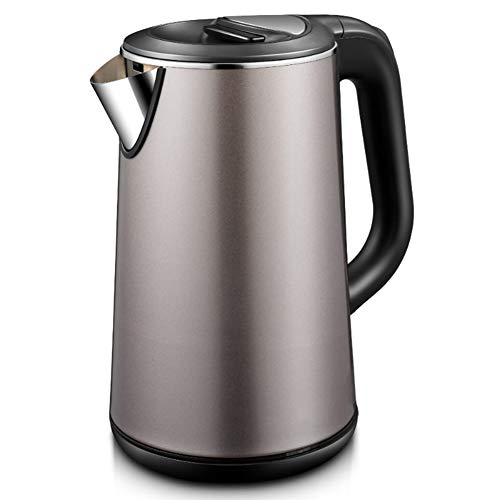 Kettle Electric Kettle Kettle Household Kettle Kitchen Kettle Portable Kettle 304 Stainless Steel Automatic Power Off Large Capacity Insulation Kettle Dormitory Kettle 1500W 1.8L Coffee Gold 21 14.5