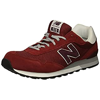 New Balance Men's 515 V1 Sneaker, red, 7 4E US