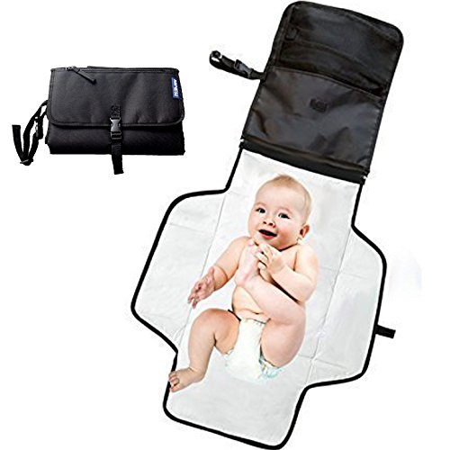 Portable changing mat  Baby changing bag with Storage Pockets For easy...
