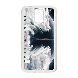 INTERESTELAR 3 para funda Samsung Galaxy S5 funda del teléfono celular de cubierta blanca