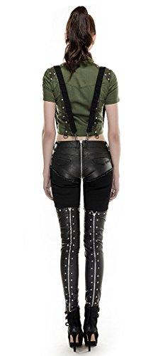 Punk Rave - Camisas - para mujer Verde
