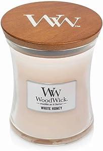 WoodWick White Honey Medium Hourglass Candle