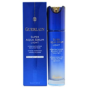 guerlain super aqua intense hydration wrinkle plumper serum for unisex, 1 ounce Lancome Advanced Genifique Sensitive Youth Activating + Sensitivity Soothing Dual Concentrate - All Skin Types, Even Sensitive 20ml/0.67oz