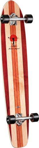 Surf One Robert August II Complete Longboard (8.875 x 43.75) (Randal Skateboard Truck Longboard)