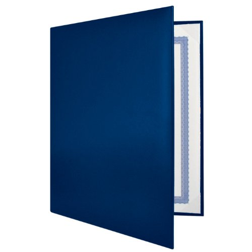 Blue Padded Diploma Covers - Set of 25
