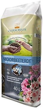 Alta calidad Moor Bancal Tierra para Hortensias etc., 40 litros, ácidas especial Tierra de trébol Schulte para Tiesto Jardín Tierra para macetas, volldünger: Amazon.es: Jardín