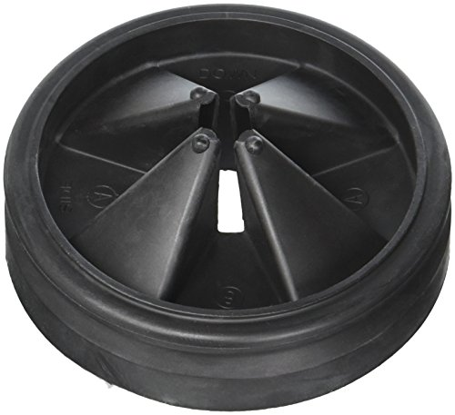 (InSinkErator Sink Baffle Quiet Collar Black 77960 NEWEST VERSION Replaces QCB-AM)