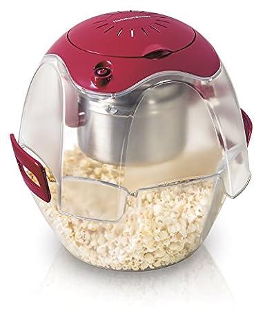 Hamilton Beach 73310 Party Popper Popcorn Maker, Red - Party Machine