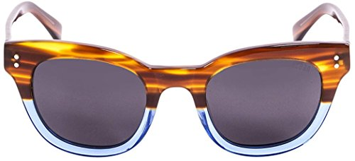 Brown/Blue/Smoke Santa Cruz Sunglasses by - Cruz Sunglasses Santa