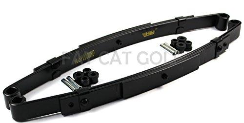 EZGO TXT 1995-2013 Heavy Duty Rear Leaf Spring Kit with Bushings & Sleeves for EZGO TXT Golf Cart