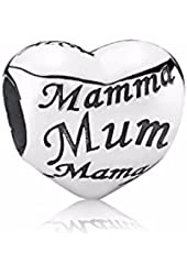 Pandora Mothers Heart Mom Charm, Brand New, 925 Silver US Seller, #791112