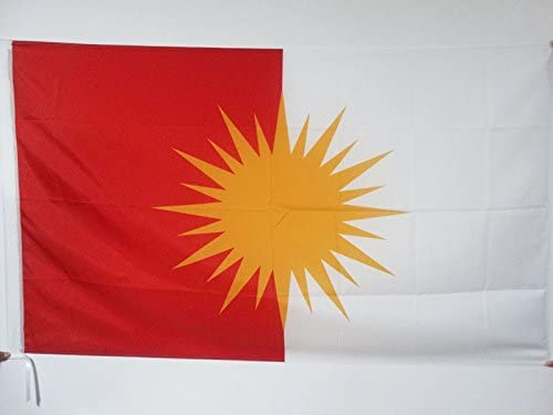 YEZIDEN KURDISCH EZIDEN Fahne 90 x 150 cm Scheide f/ür Mast AZ FLAG Flagge JESIDEN YAZIDISM NEU 150x90cm flaggen Top Qualit/ät