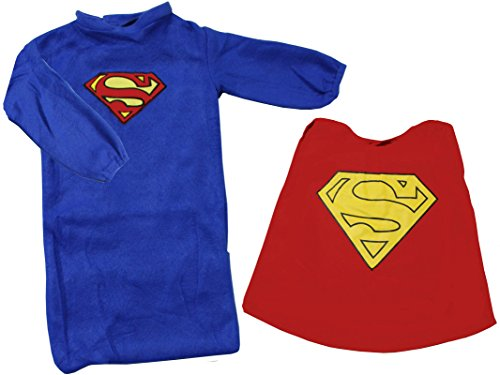 Rubies Superman Bunting Baby Costume (2 Month Old Baby Boy Halloween Costumes)